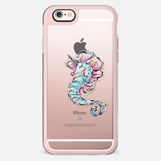 Sea Unicorn | Seahorse Transparent Case