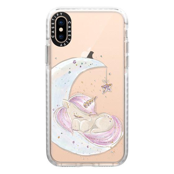 iPhone XS Cases - Sleeping Baby Unicorn