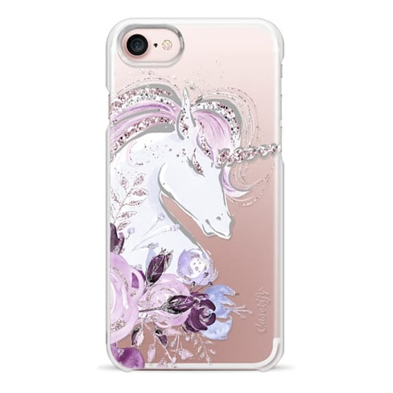 iPhone 7 Cases - Dreaming Unicorn