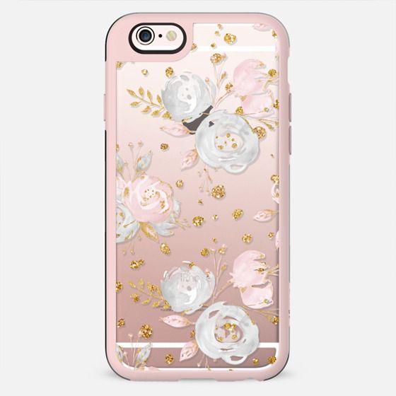 Blush Peonies Wedding Flowers Romantic Spring Pattern - New Standard Case