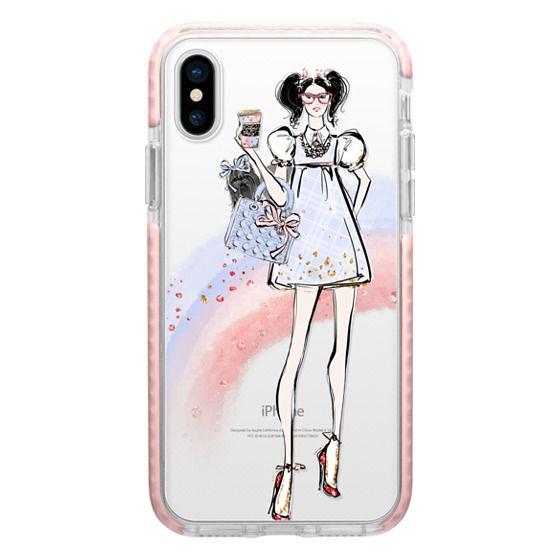 iPhone 7 Plus Cases - Over the Rainbow #3 - Dorothy - Transparent Rainbow Case