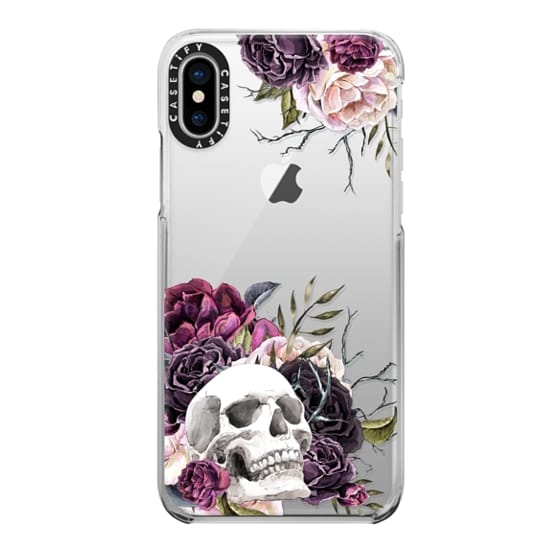 iPhone X Cases - Forget Me Not