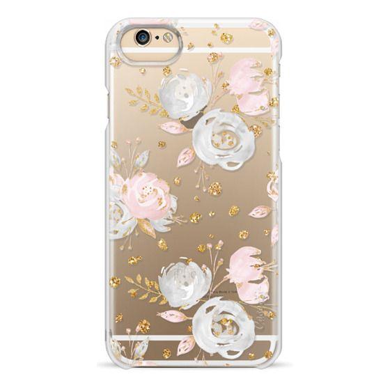 iPhone 6 Cases - Blush Peonies Wedding Flowers Romantic Spring Pattern
