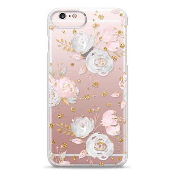 iPhone 6s Plus Cases - Blush Peonies Wedding Flowers Romantic Spring Pattern