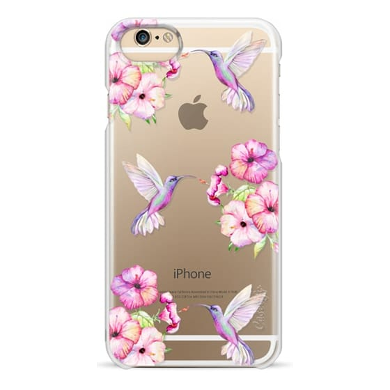 iPhone 6 Cases - Tropical Birds and Flowers