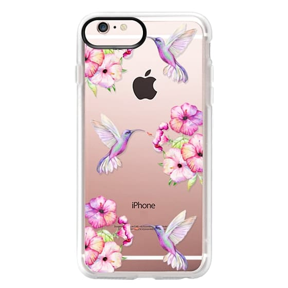 iPhone 6s Plus Cases - Tropical Birds and Flowers