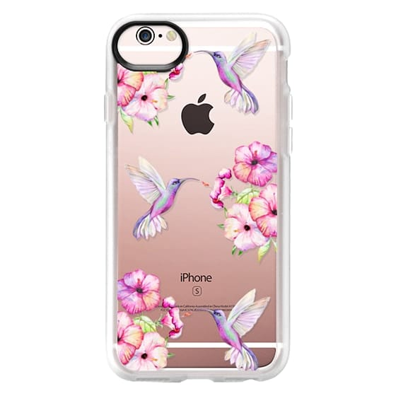 iPhone 6s Cases - Tropical Birds and Flowers