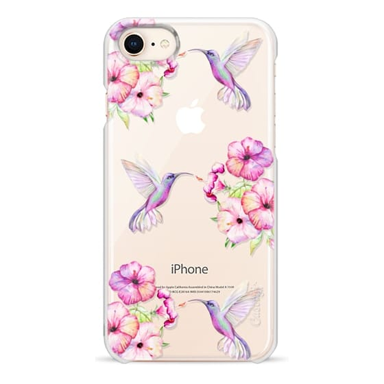 iPhone 8 Cases - Tropical Birds and Flowers