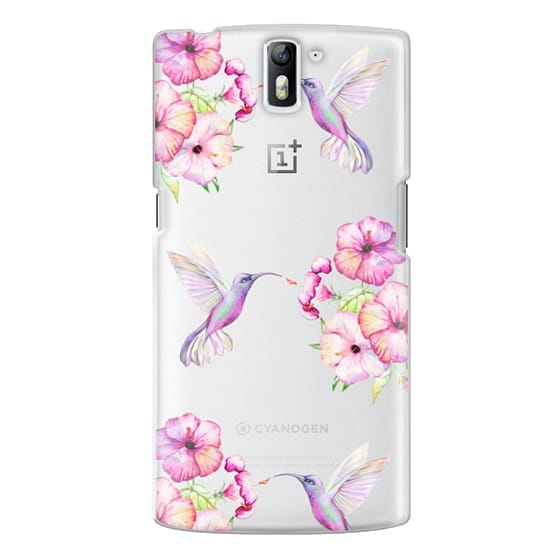 One Plus One Cases - Tropical Birds and Flowers