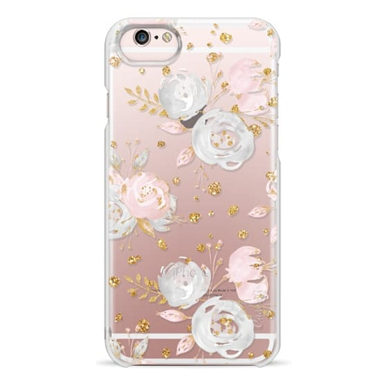 iPhone 6s Cases - Blush Peonies Wedding Flowers Romantic Spring Pattern