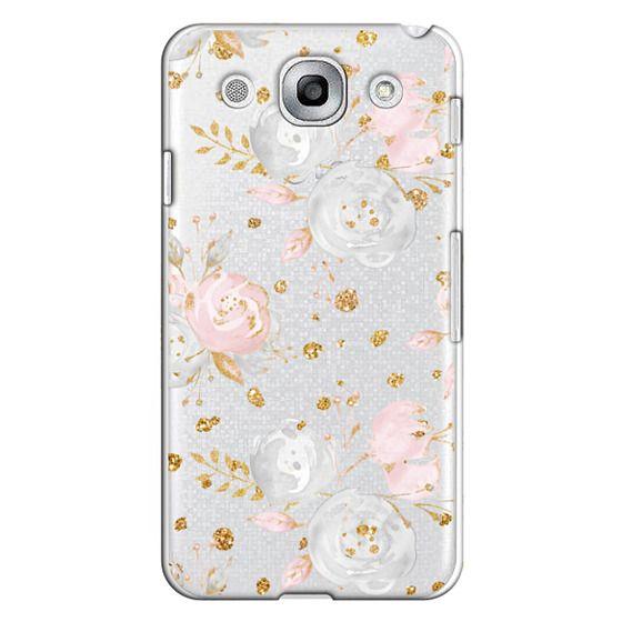 Optimus G Pro Cases - Blush Peonies Wedding Flowers Romantic Spring Pattern