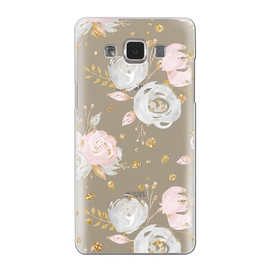 Samsung Galaxy A5 Cases - Blush Peonies Wedding Flowers Romantic Spring Pattern