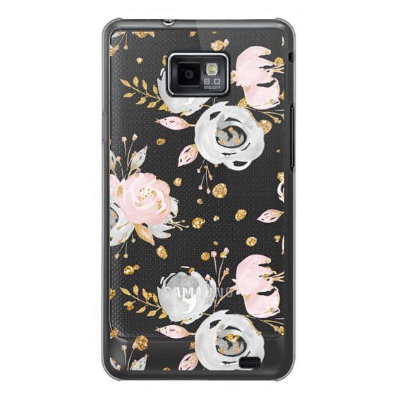 Samsung Galaxy S2 Cases - Blush Peonies Wedding Flowers Romantic Spring Pattern