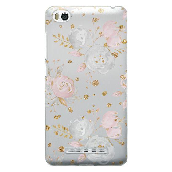 Xiaomi 4i Cases - Blush Peonies Wedding Flowers Romantic Spring Pattern