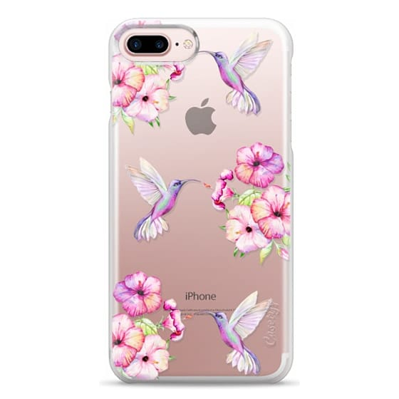 iPhone 7 Plus Cases - Tropical Birds and Flowers