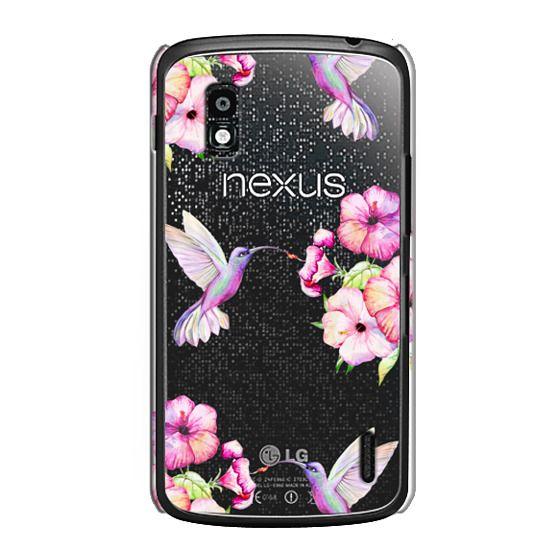 Nexus 4 Cases - Tropical Birds and Flowers