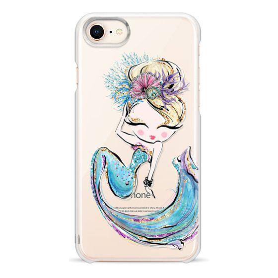 iPhone 7 Plus Cases - The Blond Cutie Pie | Mermaids Please Transparent Cases Collection