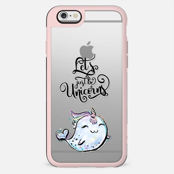 Narwhale #1 - Let's Just be Unicorns | I Don't Believe in Humans Collection - New Standard Case