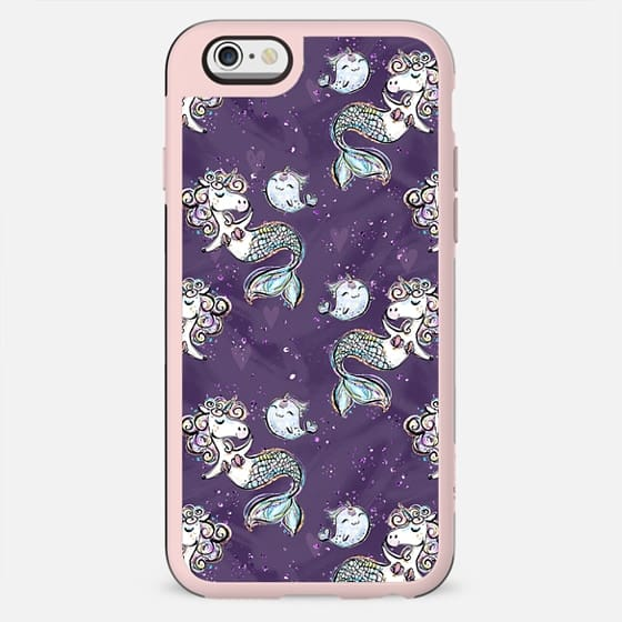 Unicorn Mermaids and Narwhales Pattern | I Don't Believe in Humans Collection - New Standard Case