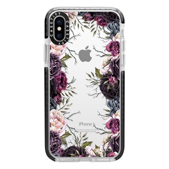 iPhone X Cases - My Secret Garden