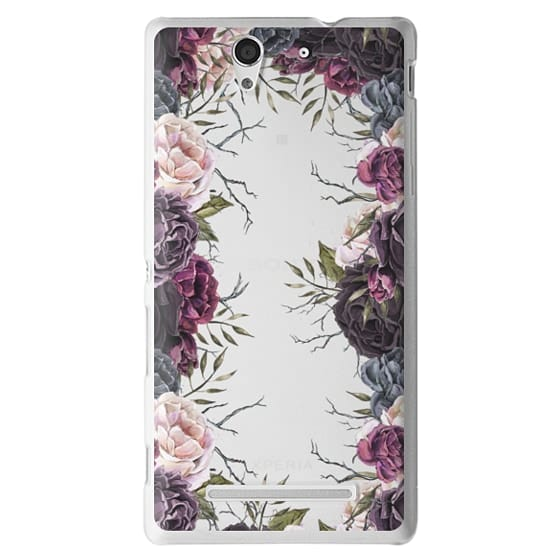 Sony C3 Cases - My Secret Garden