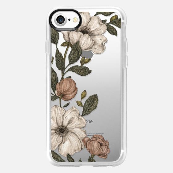 Floral Laurel by Jessica Roux - Wallet Case