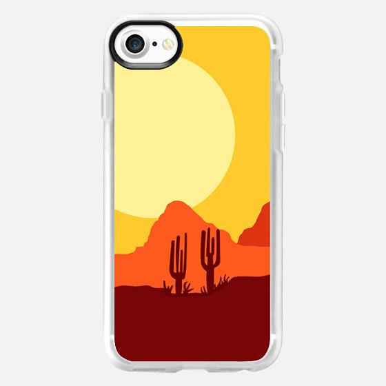 Mojave desert scene - Classic Grip Case