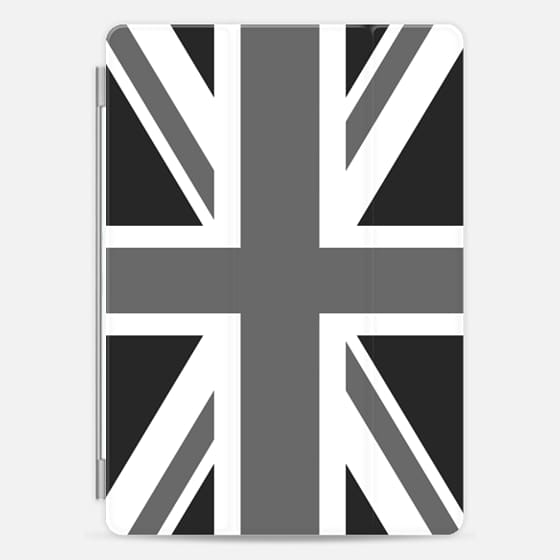 Union Jack ensign - Authentic greyscale version -