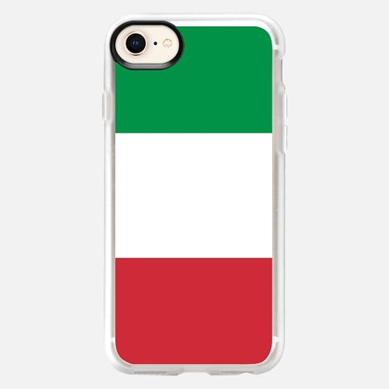 The national flag of Italy or the Italian national flag - Snap Case