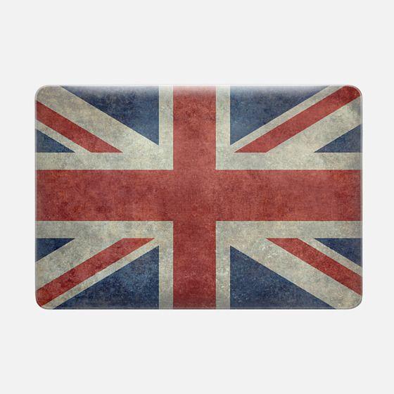 United Kingdoms Union Jack flag in Vintage retrostyle -