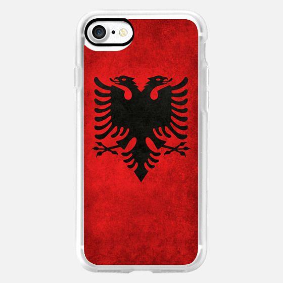 Albanian flag -
