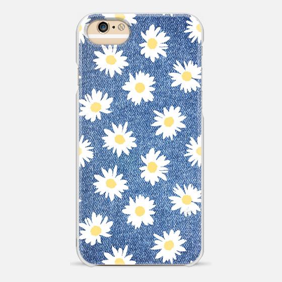 Casetify iPhone 7 Plus/7/6 Plus/6/5/5s/5c Case - Daisy jeans