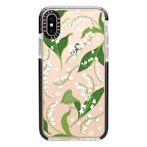 iPhone XS Cases - Lily of the Valley