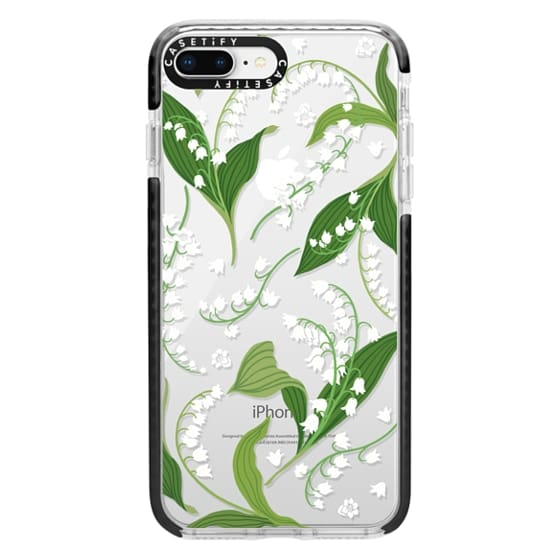 iPhone 8 Plus Cases - Lily of the Valley