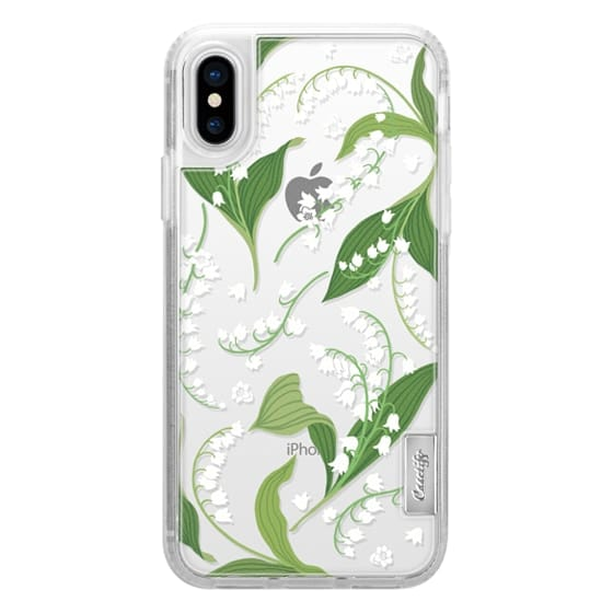 iPhone X Cases - Lily of the Valley