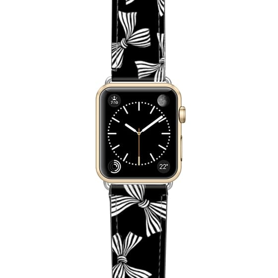 Apple Watch 38mm Bands - Striped Bows