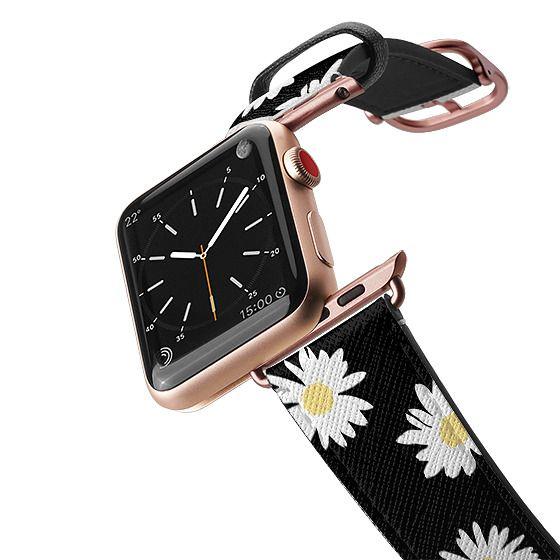 Apple Watch 38mm Bands - Daisy black