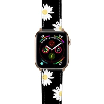 Apple Watch Band  - Daisy black