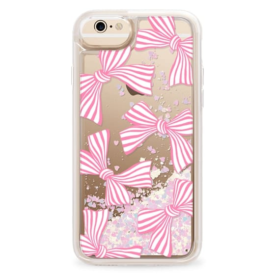 iPhone 6 Cases - Pink Striped Bows