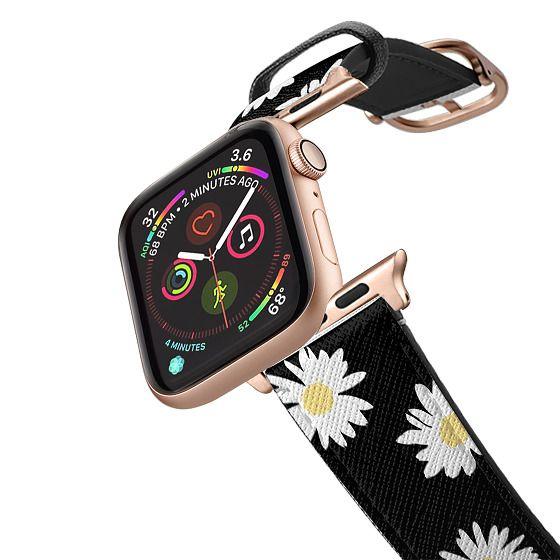 Apple Watch 42mm Bands - Daisy black