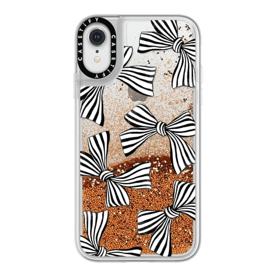 iPhone XR Cases - Striped Bows