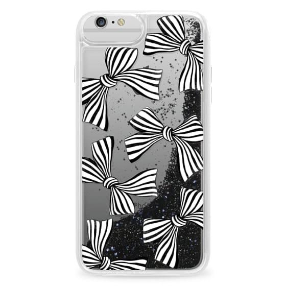 iPhone 6 Plus Cases - Striped Bows