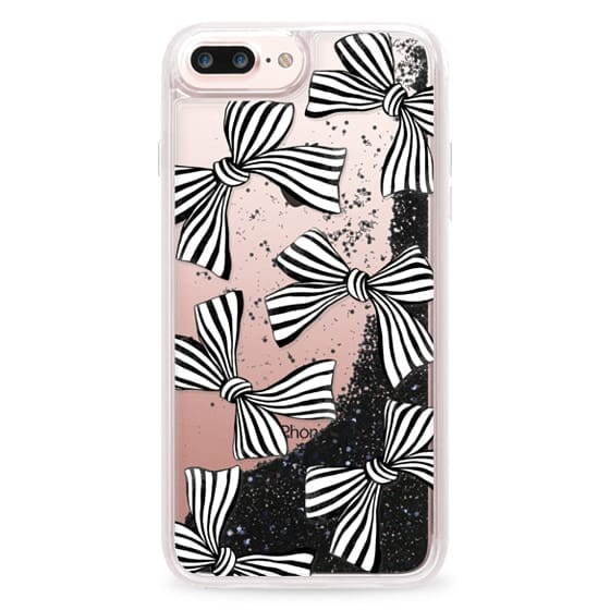 iPhone 7 Plus Cases - Striped Bows