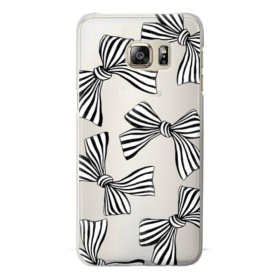 Samsung Galaxy S6 Edge Plus Cases - Striped Bows