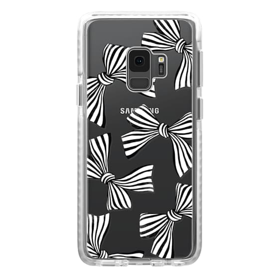 Samsung Galaxy S9 Cases - Striped Bows
