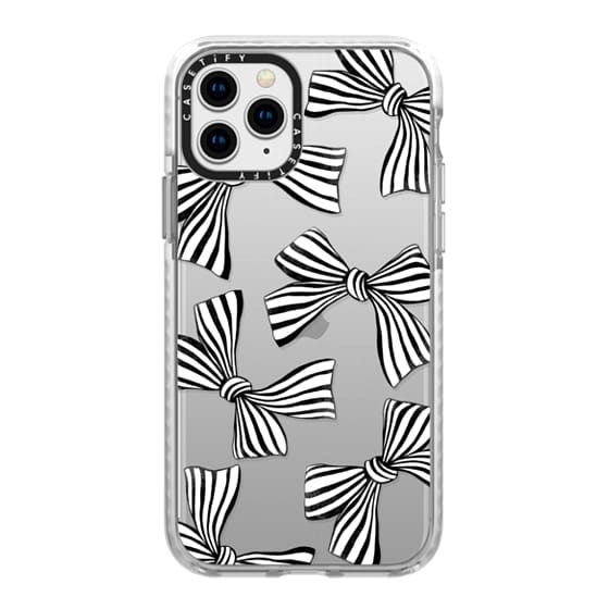 iPhone 11 Pro Cases - Striped Bows