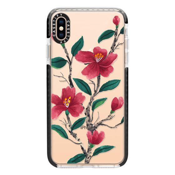 iPhone XS Max Cases - Camellia