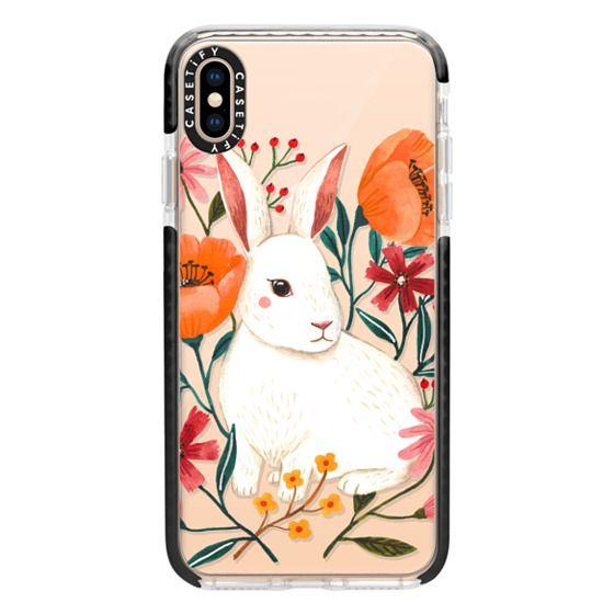 iPhone XS Max Cases - White Rabbit