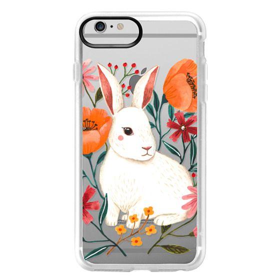 iPhone 6 Plus Cases - White Rabbit