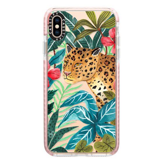 iPhone XS Max Cases - Wild Leopard